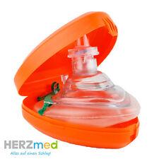 Marken Proact Medical Beatmungsmaske Taschenbeatmungsmaske Pocket Maske orange