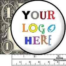 "2 1/4"" 1 or(MORE) Custom Pin Button Badge Logo Text Art 2.25"" Lapel Advertising"