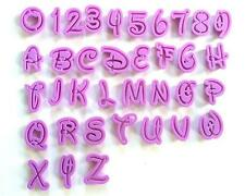 36 Buchstaben Zahlen Aussstecher Alphabet Ausstechform Fondant Marzipan Torten