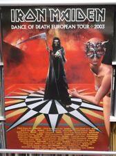 Iron Maiden:  Dance of Death European Tour Poster  65cm X 88cm