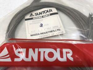 2  Vintage NOS Suntour Accushift Shifter Racing Cables