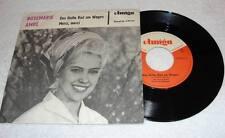 """ROSEMARIE AMBE Das Fünfte Rad Am Wagen Merci 7"""" Vinyl Single AMIGA Schlager DDR"""