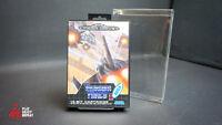 Thunder Force 2 II Sega Mega Drive PAL Complete VGC FAST AND FREE UK POSTAGE