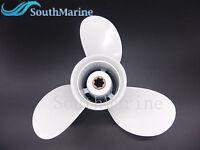 """Aluminium Propeller 683-45947 EL Outboard fit Yamaha 15HP 9.9HP 3 x 9 1//4 x 8/"""""""