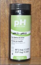 TSTCHECK Urine and Saliva PH Test Strips 100 Strips