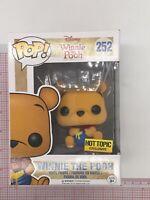 Funko Pop! Disney - Winnie The Pooh 252 - Flocked - Hot Topic Exclusive C01