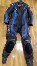 RST Tractech Un Pezzo Moto Leathers Suit-EU 56/UK46 - BLU-GARA gobba