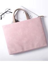 "Laptop Shoulder Bag 12""13""14""15.6"" PU Leather Notebook Handle Case For Mac Asus"
