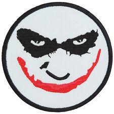 Joker Smiley Face Batman Superhero Bat Villain Carnival Iron On Patches #FL026
