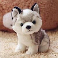 "18cm 7"" Plush Doll Soft Toy Animal Husky Dog Baby Kids Cute Stuffed Toys hv2n"