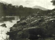 SOUTH AFRICA. View on Nytzitsi river 1899 old antique vintage print picture