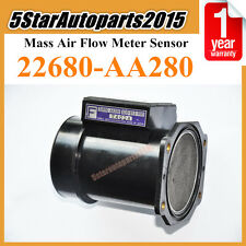 Mass Air Flow Meter 22680-AA280 for Subaru Impreza 2.0 2.2 2.5 Legacy Forester