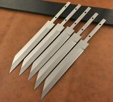 Lot of 5 Handmade 420 High Carbon Steel Knife Blank Blades-Seax Blanks-C44