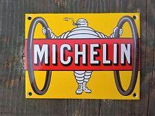 plaque émaillée  michelin  12cm x 9cm