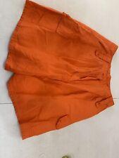 Anne Klein Women's orange shorts size 10 $125