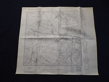 Landkarte Meßtischblatt 3443 Wustermark, Elstal, Dyrotz, Etzin, Bredow, 1942