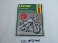 Suzuki 250 350 T250 GT250 T305 T3500 1968-1978  Haynes Workshop manual NEW SJ571