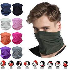 Multifunctional Neck Tube Headwear Half Face Bike Motorbike Bandana Mask UK