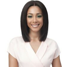 BOBBI BOSS UNPROCESSED BRAZILIAN REMY BUNDLE HAIR FULL LACE WIG - STRAIGHT 16""