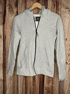 Specialized Mens Gray Zip Up Sweater Small
