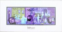 2019 Disney D23 Expo Haunted Mansion 50th 31 GHOSTS Deluxe Print by SHAG LE 100