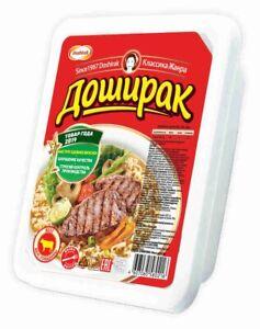 Instant noodles Doshirak красный Доширак with beef flavor
