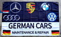90x150cm Car flags Service Maintenance and Repair BMW Flag Banner 3 x 5 FT