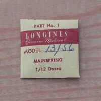 New Longines Genuine Swiss Cal 13.56 Watch Mainspring Part Watchmakers (G6D15)