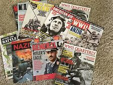 Lot of military magazines World War 2 Military Heritage