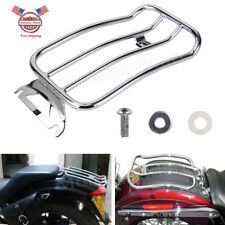 Chrome Solo seat Luggage Rack For Harley Road Glide Road Glide FLH/T 1997-2015