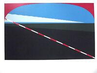 HANS J. KLEINHAMMES  - Farbserigraphie - HANDSIGNIERT, NUMMERIERT - 1972
