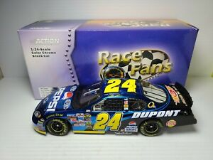 2005 Jeff Gordon #24 DuPont / Pepsi Color Chrome 1:24 NASCAR Action Die-Cast MIB