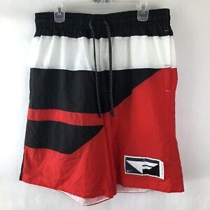 NWT Nike Flight Swim Trunks / Men's 2XL / XXL / Loose Fit / Red / Retail $50