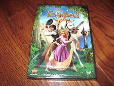 Tangled: Disney, Animated (DVD, 2011) Brand New; Factory Sealed + I Ship Faster