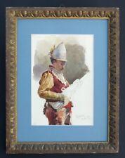 Studie eines Musketier, Rom 1877, Italien