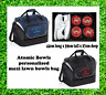 Personalised Atomic Bowls Maxi Size Large Lawn Bowls Bag Add Your Name & Club