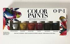 Opi - Color Paints 6-Pack Nail Lacquer Polish Set, 0.125 Fl.Oz. Each