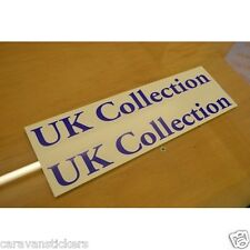 HOBBY 'UK Collection' Caravan Name Stickers Decals Graphics - PAIR