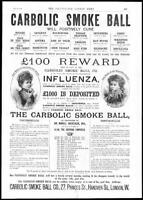 1892 Antique Print - ADVERTISING Carbolic Smoke Ball CARLILL Mackenzie  (31)