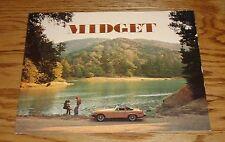 Original 1976 MG Midget Sales Brochure 76