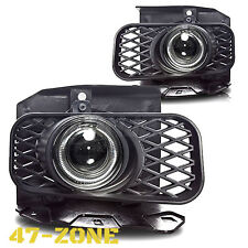 For Ford F150 F-150 Expedition White Halo Clear Projector Lens Fog Lights Lamps