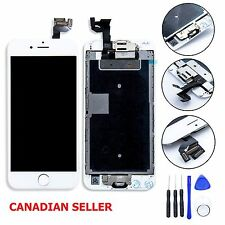 iPhone 6S Plus White LCD Touch Digitizer Screen Full Assembly Home Button Camera