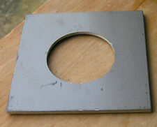 "Calumet 4x4"" metal  lens board panel with 52mm hole 105822 modified"