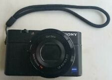 Sony Cyber-shot DSC-RX100 20.2 MP Compact Digital Camera 28-100mm ZEISS zoom len