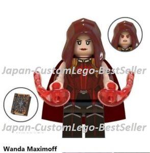 NEW WANDA MAXIMOFF Vision Agatha Minfigures Marvel Comics lego MOC Avengers Toys