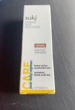 Suki Skin Care Sukicolor tinted active Face moisturizer Day Cream 1oz Nib