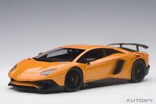 Autoart 74557 - 1/18 Lamborghini Aventador Lp750-4 Sv (2015) - Metallic Orange