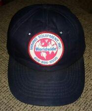 World Wide worldwide Mining Supply Equipment  Snapback baseball cap Hat w patch