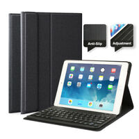 "US iPad Case for iPad 6th Gen 2018 9.7"" Wireless Bluetooth Keyboard Smart Cover"