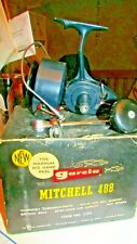 ~~GARCIA MITCHELL 488 REEL~GREAT CONDITION~BOX~MAUALS~COPY OF SERVICE PTS~TOOL